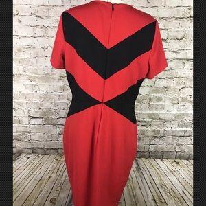 dfff3ea1ef0e Vince Camuto Dresses - Vince Camuto Dress Chevron Color Block Sheath